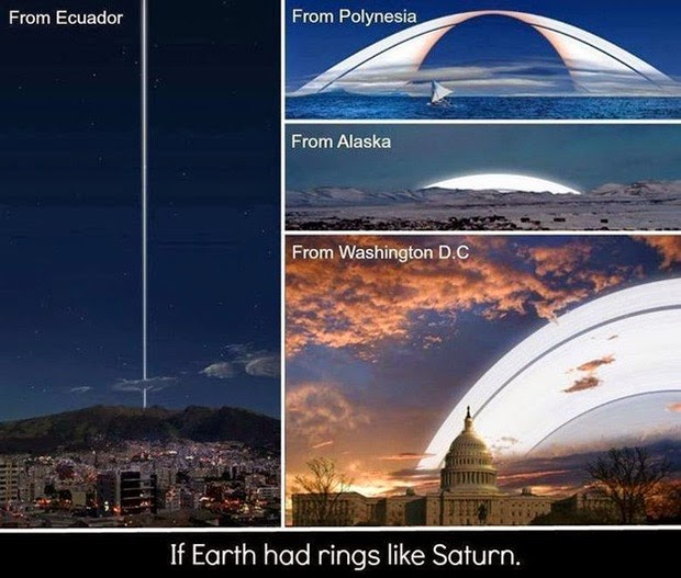 30 images that will make you RECONSIDER your ENTIRE existence Earth-with-rings-like-Saturn