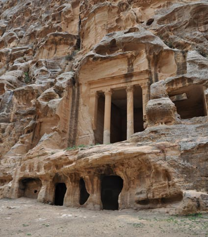Uncovering secrets of mystery civilization in Saudi Arabia Cisterns-nabataean-petra