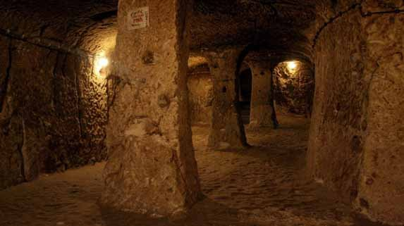 Underground cities and networks around the world  Derinkuyu