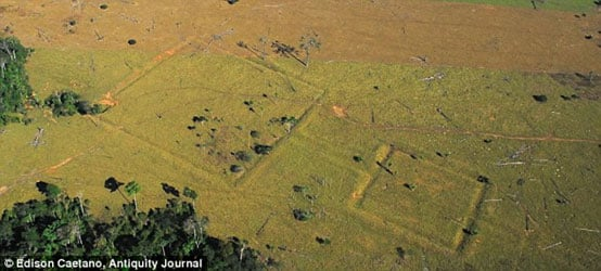MYSTERIOUS MAN-MADE DITCHES THAT PREDATE AMAZON RAINFOREST Ditches-Fazenda-Parana