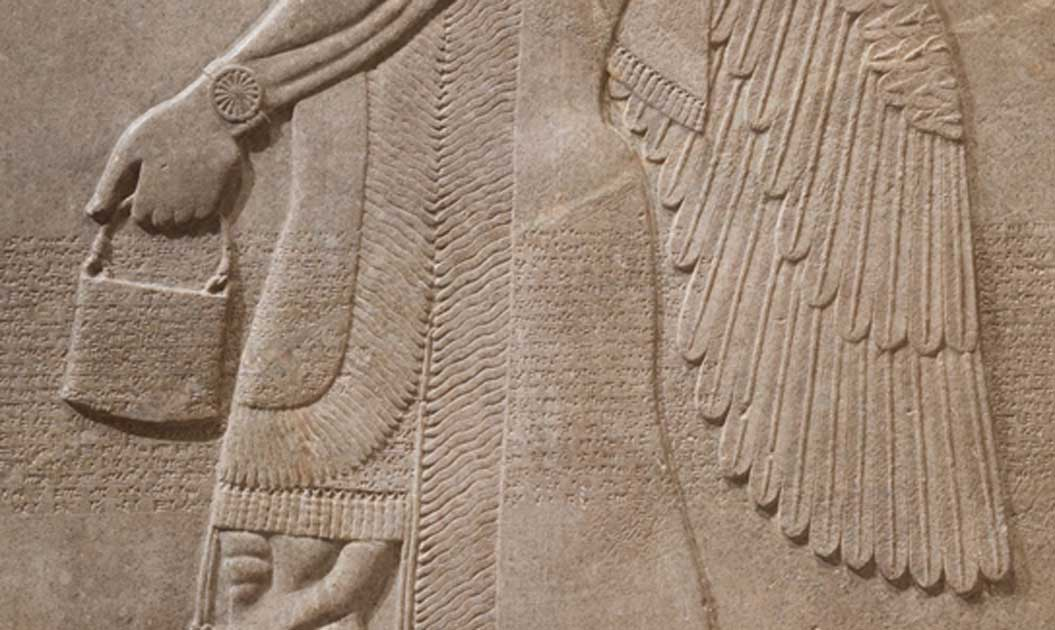 The Mysterious bag of the Anunnaki GODS is found all over the globe  Handbag-Seen-in-Ancient-Carvings