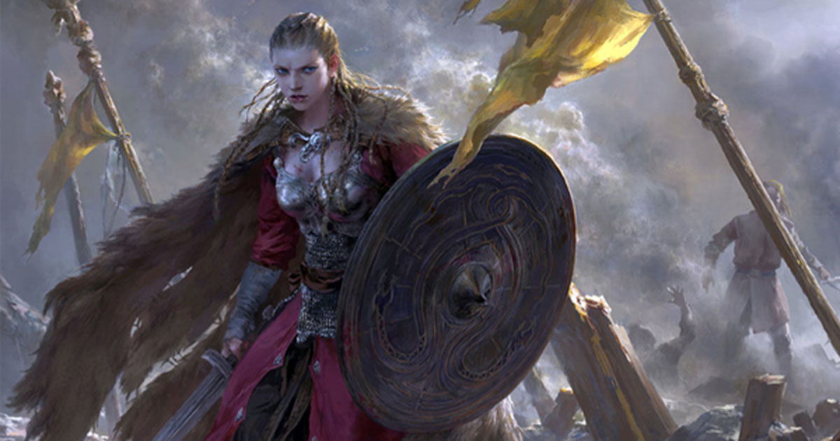 Uncommon Thoughts on Common Things - Cyrellys - Page 29 Viking-Age-Warrior-Woman