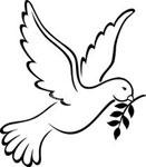 SYMBOLES DE PAIX Dove-symbol