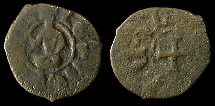 Pogh o kardez de Levon III (1301-1307) del reino armenio de Cilicia Levon3-kardez437