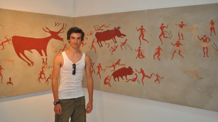 PREHISTORIC SHAMAN ART.. Catalhoyuk1