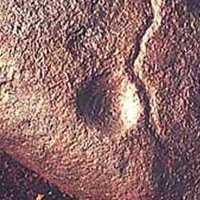 PREHISTORIC SHAMAN ART.. Cupule