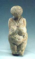 PREHISTORIC SHAMAN ART.. Kostenky23-21000BC