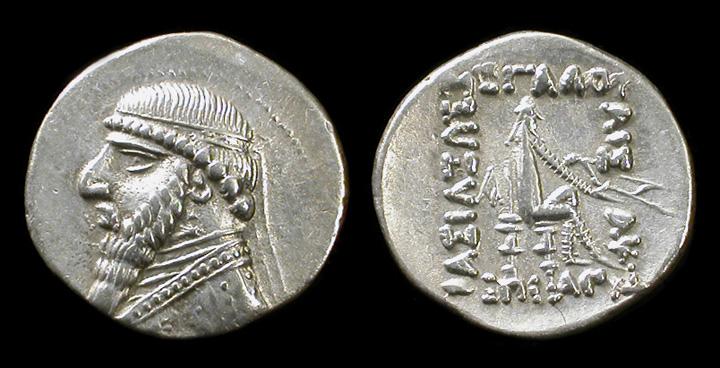 مسكوكات الملك ميثريدتس الثاني Parthia-mithradates-cp2005