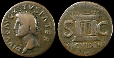 C qui :-) :-) Divus-augustus-dupondius-13478b