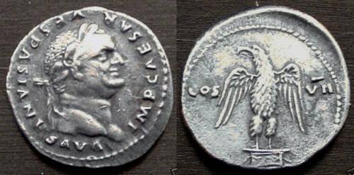 5 monedas y sólo una auténtica. Cuál es? Fake-Vespasian-Denarius-Eagle