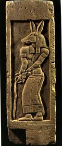 متحف السودان القومي 05_religion_anubis