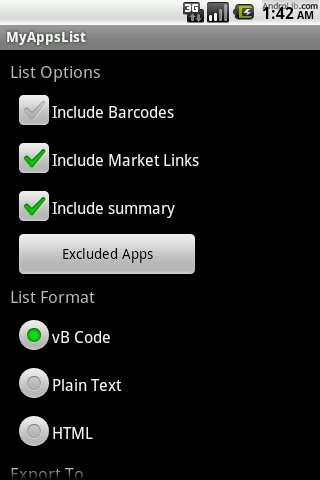 [SOFT] MYAPPSLIST : Partager facilement votre liste d'application [Gratuit] JFzxi.u.cs