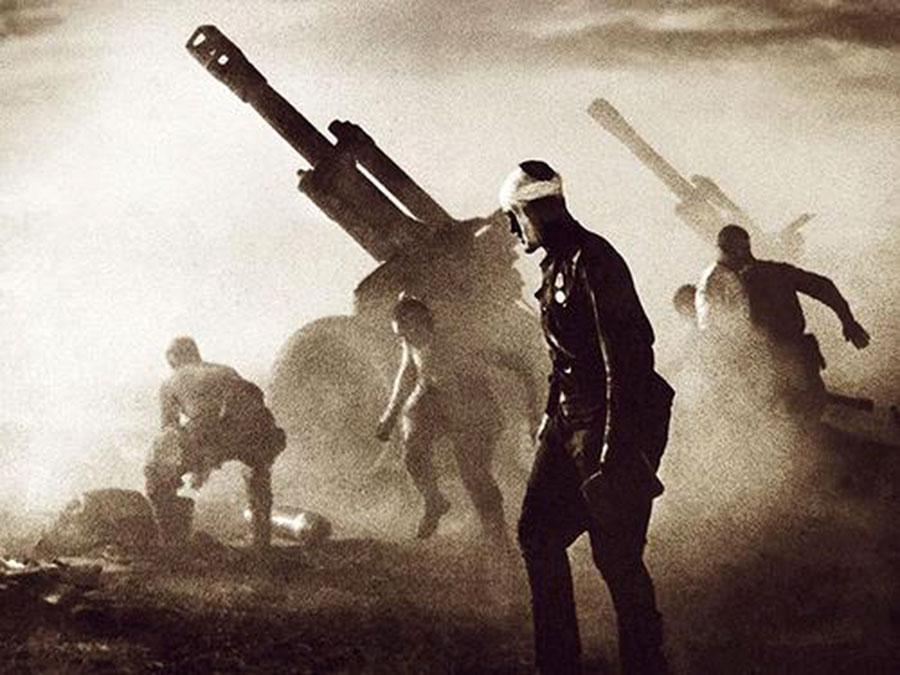5 hryven 2013. 75 años de la Batalla del Dnieper. Ucraína. 2465-1