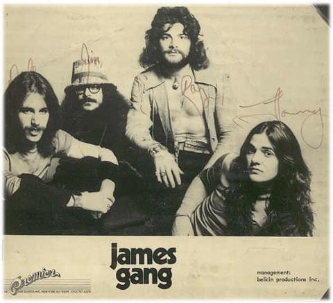 James Gang - Bang (1973) 74promo