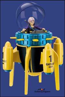 Maquina Del Tiempo Capsule Corp. Nave Hope (Dragon Ball Z) [OF3] Timecap
