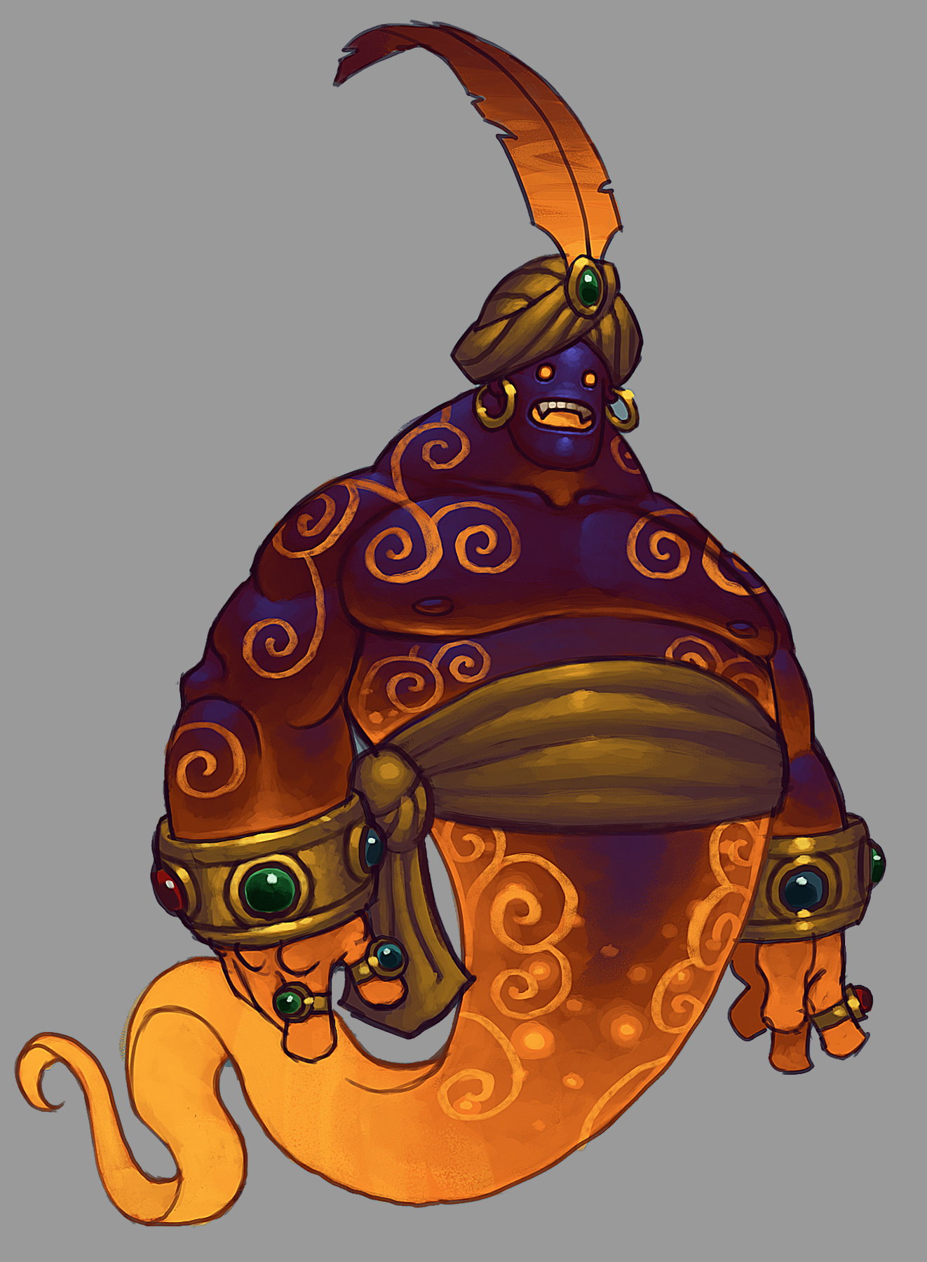 The 17th Dungeon, Djinn of Courage and Passion, Marchosias! Torchlight-ii-djinn