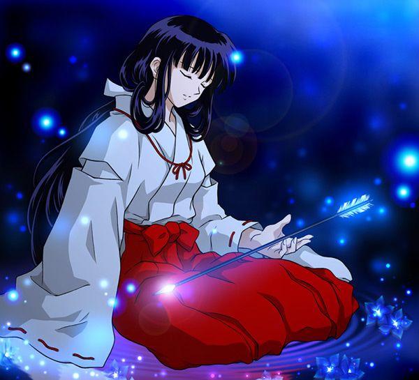 nuestros personajes anime favoritos...bakka!! Kikyo