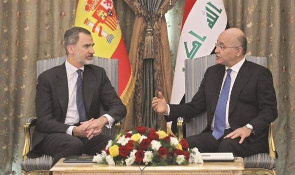 Saleh receives King of Spain in Baghdad 872ef6fe-e1ba-4f77-bce7-d4594cd8c9b7_main_New