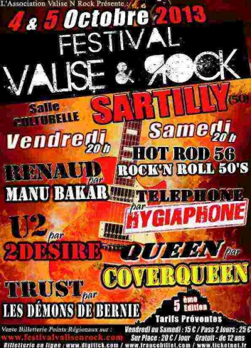Le 4 et 5 Octobre le Festival Valise & rock de Sartilly (50) 2907-1