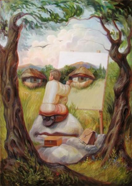 Optičke varke - Page 11 Hidden-Face-Illusion-by-Oleg-Shupliak-428x600