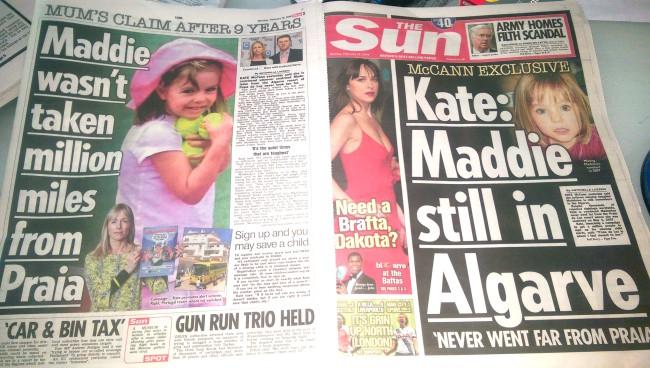 Media Mayhem - MCCANN MEDIA NONSENSE OF THE DAY Mccann-maddie-algarve-tabliod