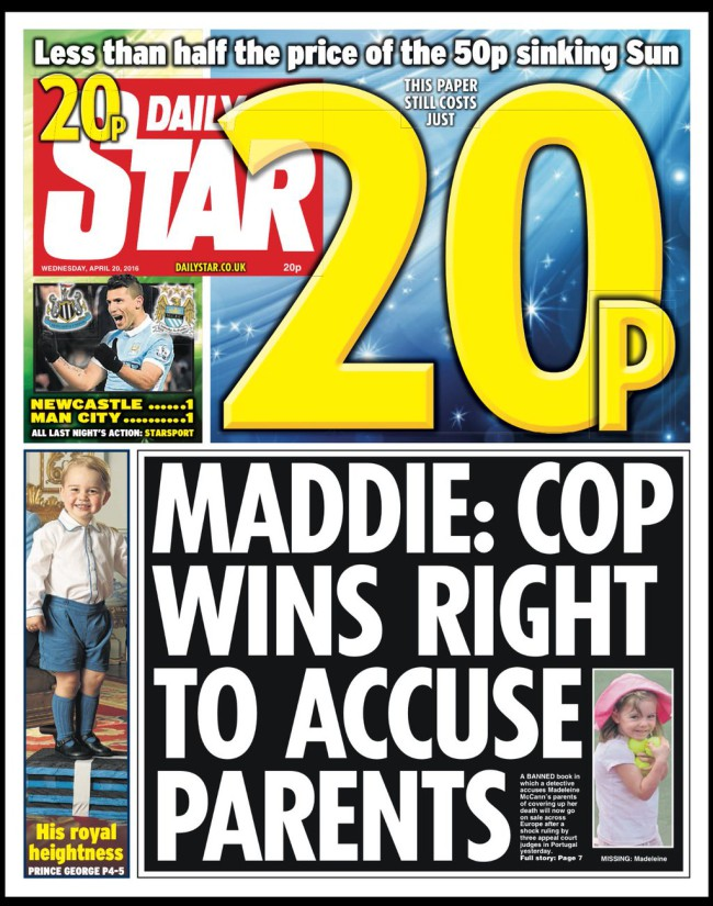 GONCALO AMARAL WINS APPEAL! -  HE MAY SUE THE McCANNS - Page 23 Maddie-mccann-tabloids