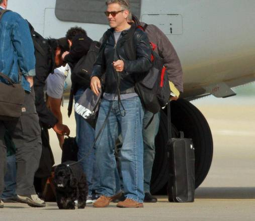 George Clooney returns to Germany and goes back to filming 08e08522a9660e687802bf51fecf3b27_372668