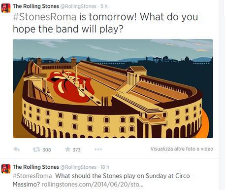 I Rolling Stones sono a Roma: domenica al Circo Massimo 10128c45babb714247f30a027db66e7c