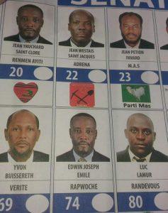Nou vini RIZE PIBLIK ENTENASYONAL jan nou OGANIZE ELEKSYON  Haiti-ballot-237x300