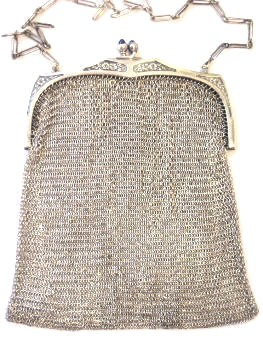 What is the best (cheap) fabric to use for 1:6 chainmail??? Whiting%20Davis%20sterling%20mesh03