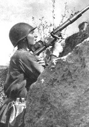 soldats soviétiques Ptrd-1