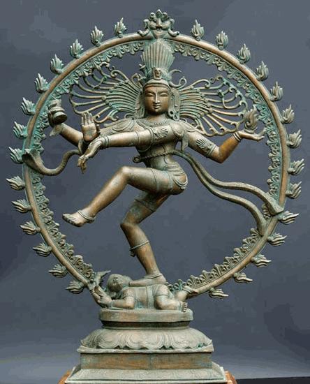 Сеть Индры и танец Шивы Bronze-Nataraja-Statue