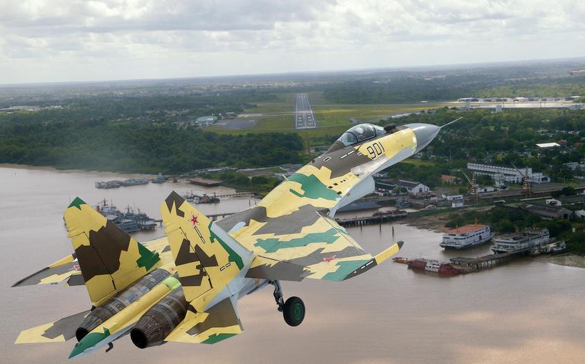 IAF Su-30MKI vs PLAF Su-35S 44903