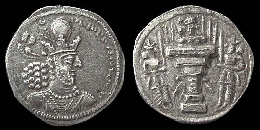 مسكوكات الملك شابور الثاني  Anc-sas-879-1