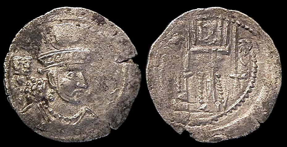 مسكوكات الملك شابور الثالث او سابور الثالث  Sas-shapuriii-ma922-1