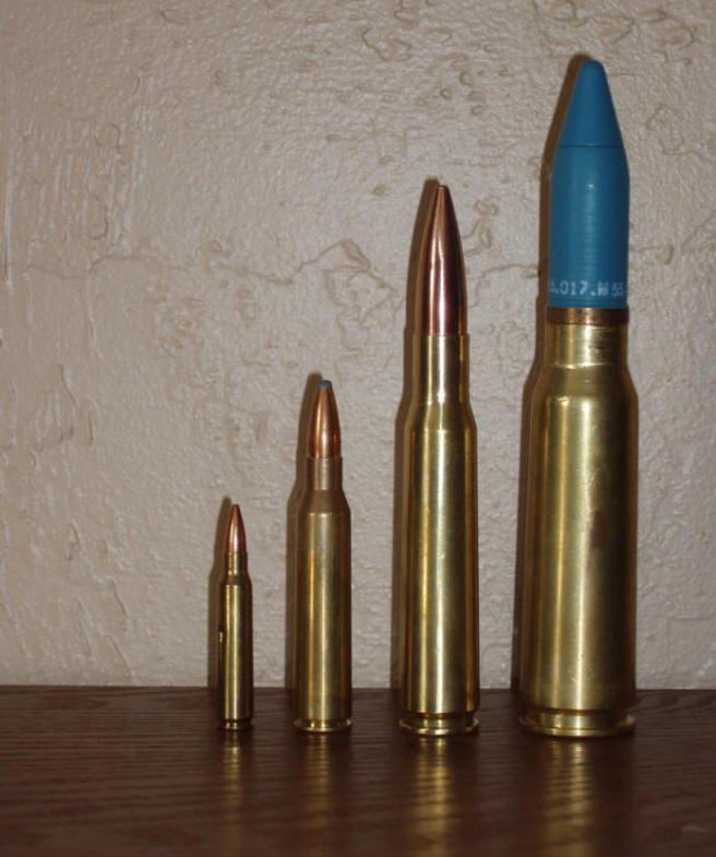fusil géant lol Bulletsizes