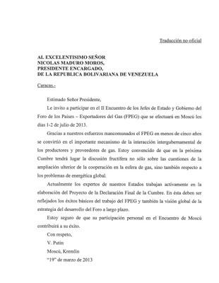 Relaciones geopolitica y Militares de Venezuela-Rusia - Página 6 Carta_putin