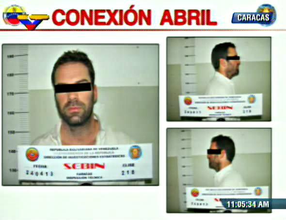 Gobierno de Nicolas Maduro. - Página 6 Gringo_preso_conspirador