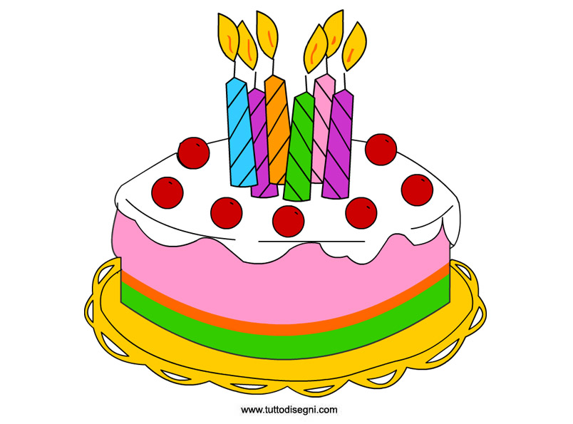 Auguri, Guya! Torta-compleanno
