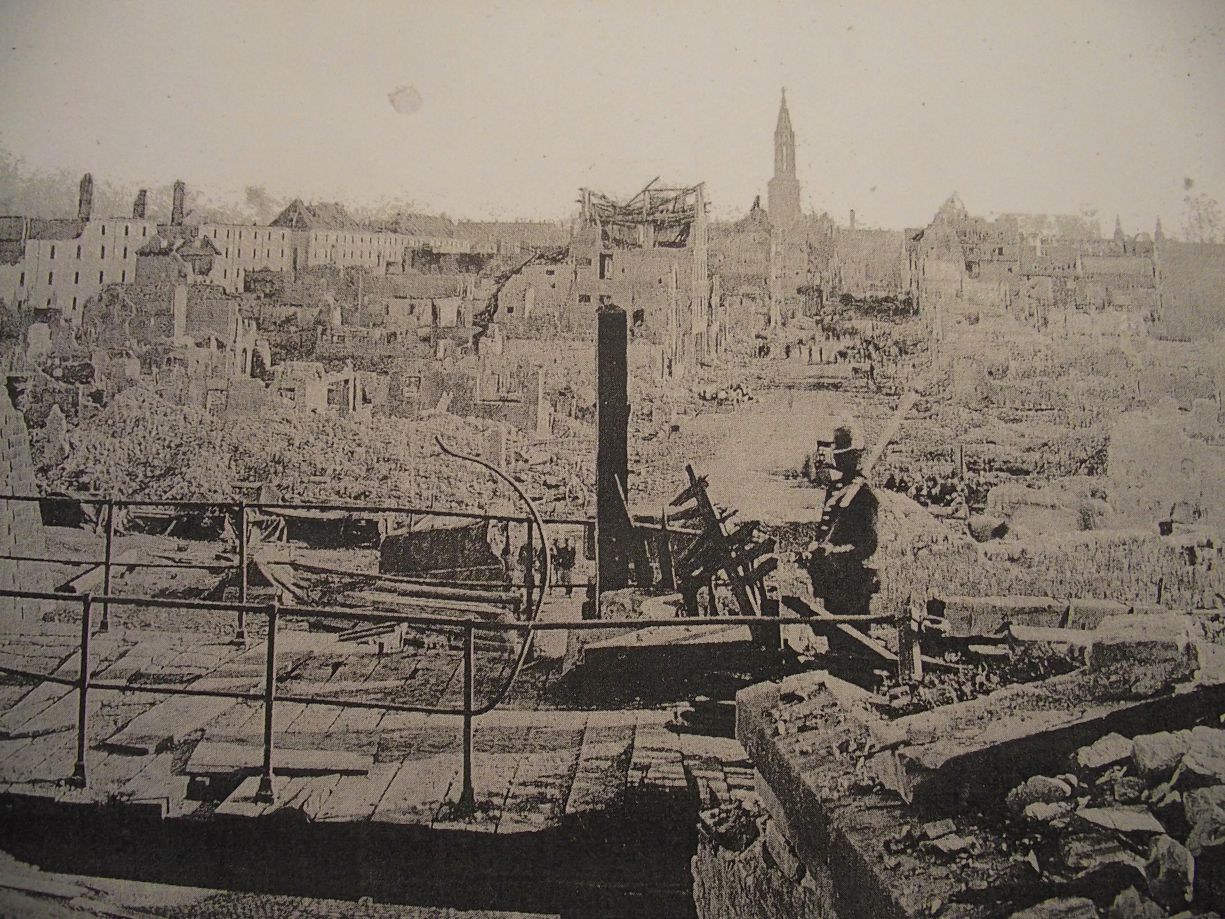 théatre de l'éternelle sagesse Faubourg-pierre-1870-Strasbourg