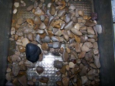 réalisation d'une terrasse rocheuse pour aquarium ou terrarium _terrasse2