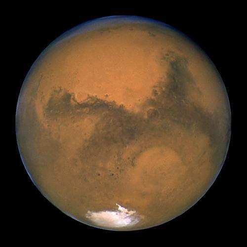 تعريف ومعلومات عن المريخ Mars_small