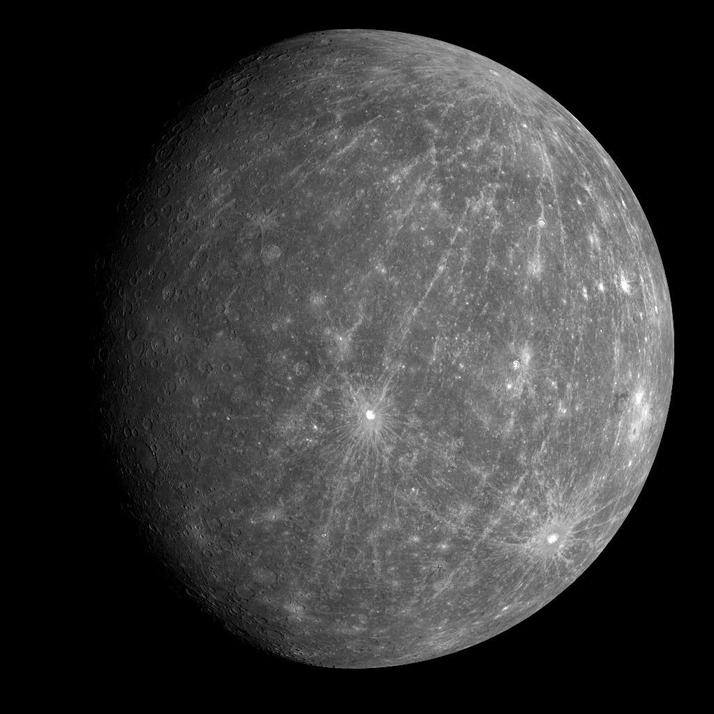 صور من كوكب عطارد Mercury