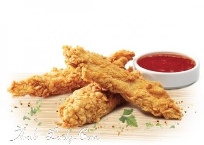 شرائح الدجاج المقرمش 140456667296