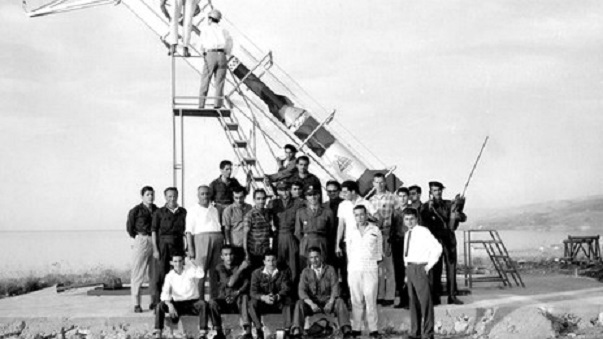 كيف سعى لبنان لغزو الفضاء Lebanon-space-1
