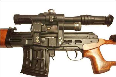 اوضاع وفن القنص مع صورة السلاح Dragunov2