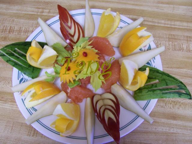 طرق متعدده لتقطيع الخضروات و الفاكهه بطريقة مبتكره 100_5496