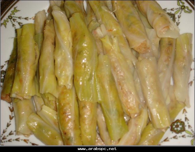 محشى الكرنب أجمل أكلة لفصل الشتاء 3ea128daea