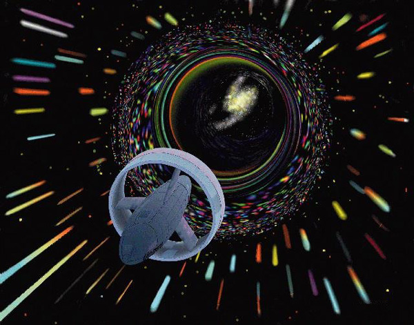 Science et vitesse de distorsion DistorsionEspaceTemps