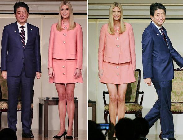 ¿Cuánto mide Ivanka Trump? - Real height Ivanka-Trump-Japanese-Prime-Minister-Shinzo-Abe-1117282